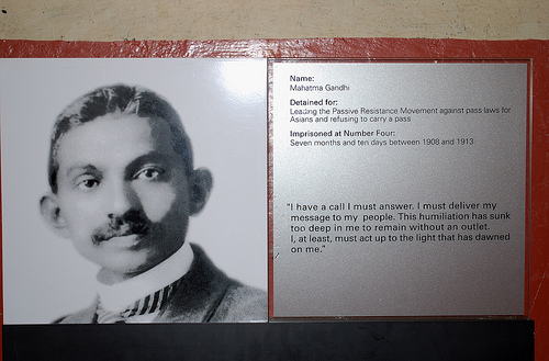 article on ghandi Read about gandhi's time in england for the second round table conference on the british library's website.